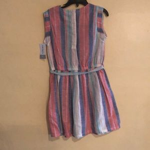 Carter's Dresses - Carter's pink and blue striped dress